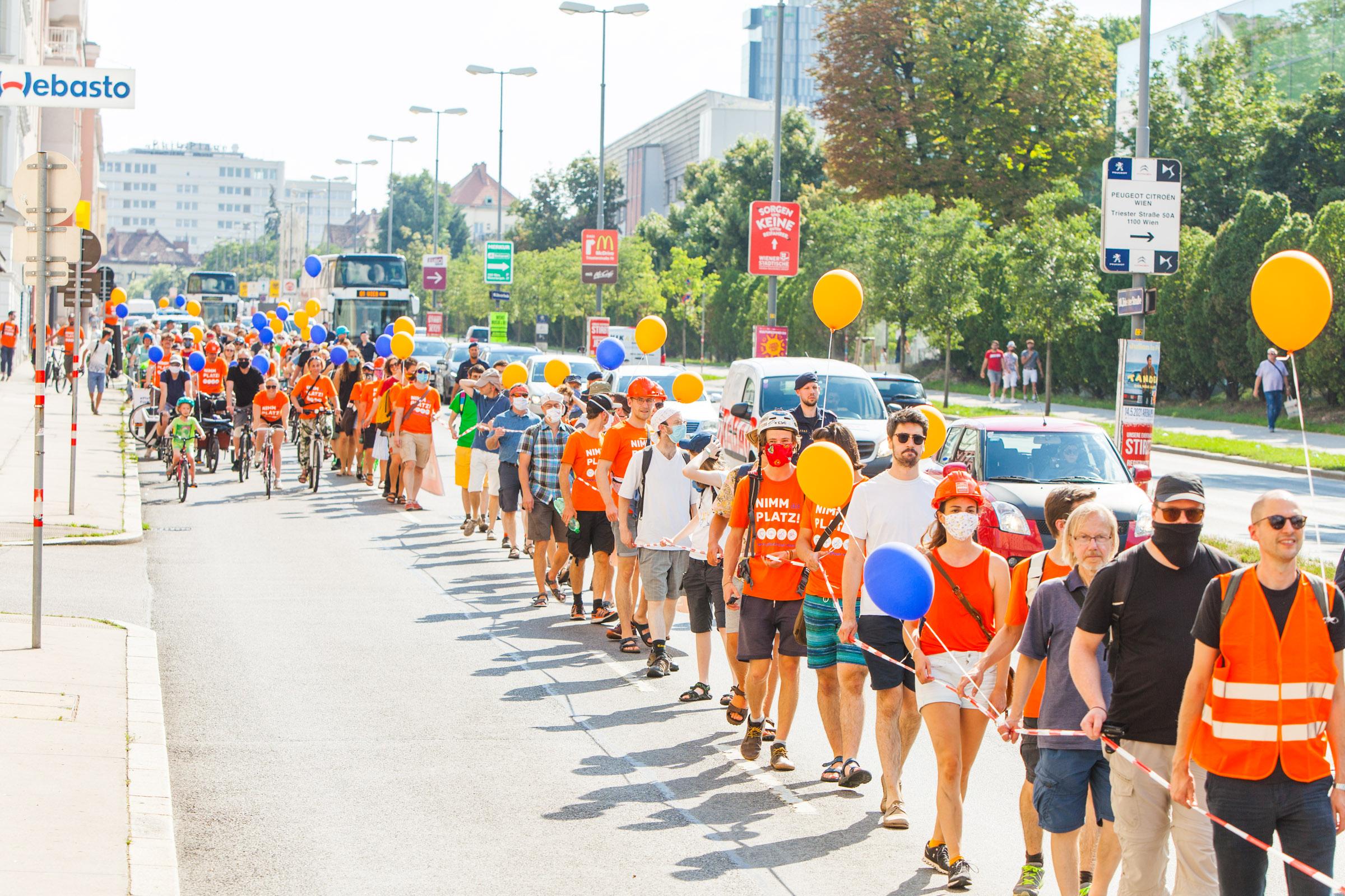 Triester Menschenkette