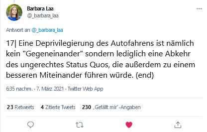 Tweet Barbara Laa